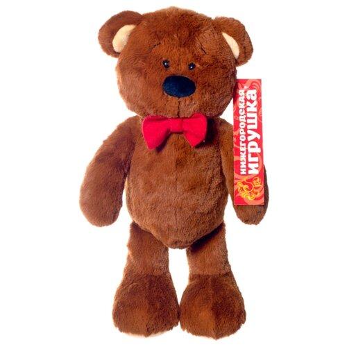 Мягкая игрушка Нижегородская игрушка Зоопарк с бантиком Медведь 40 см игрушка chuc юла