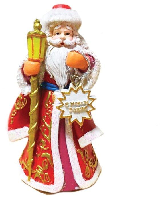 Елочная игрушка Magic Time Дед Мороз с фонариком (77840)