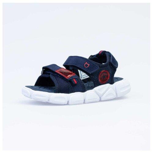 Фото - Сандалии КОТОФЕЙ размер 33, 11 синий/красный сандалии regatta размер 33 синий красный