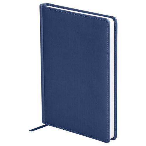 Купить Ежедневник OfficeSpace Winner недатированный, искусственная кожа, А5, 136 листов, темно-синий, Ежедневники, записные книжки