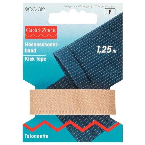 Купить Prym Тесьма для брюк Gold Zack (900312), бежевый 1.7 см х 1.25 м, Технические ленты и тесьма