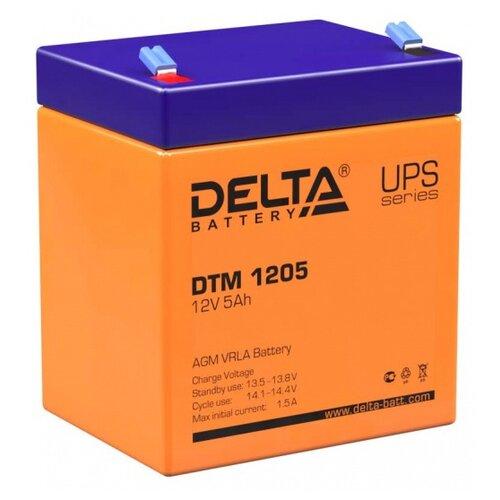 Аккумуляторная батарея DELTA Battery DTM 1205 5 А·ч