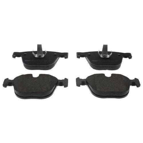 Фото - Дисковые тормозные колодки передние Ferodo FDB1628 для BMW (4 шт.) дисковые тормозные колодки передние ferodo fdb1891 для toyota lexus subaru 4 шт