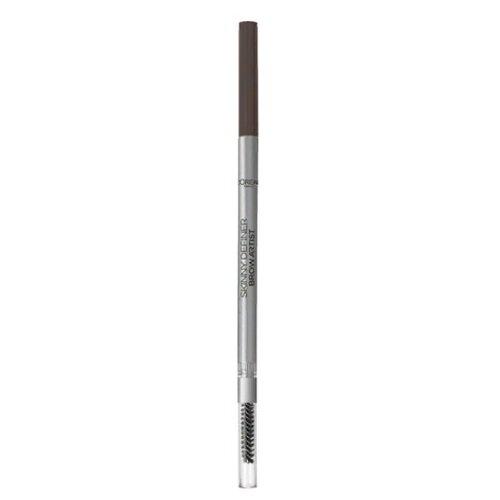 L'Oreal Paris карандаш Brow Artist Skinny Definer, оттенок 108 Dark Brunette автоматический карандаш для бровей brow artist skinny definer 5г no 101