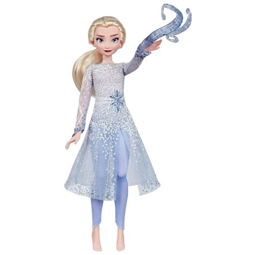 Интерактивная кукла Hasbro Disney Холодное сердце 2 Эльза, E8569 интерактивная игрушка олаф холодное сердце disney