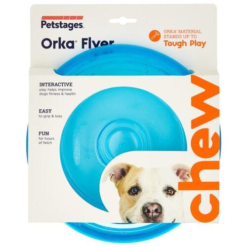 цена на Фрисби для собак Petstages Orka (231REX) синий