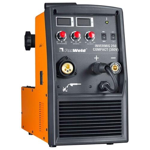 цена на Сварочный аппарат FoxWeld Invermig 250 Compact (MIG/MAG, MMA)