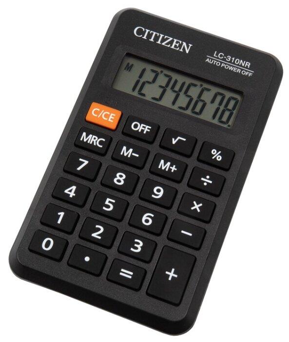 Калькулятор карманный CITIZEN LC-310NR