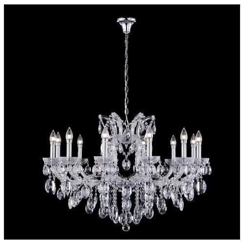 Люстра Crystal Lux HOLLYWOOD SP12 CHROME, E14, 480 Вт люстра crystal lux adagio pl8 e14 480 вт