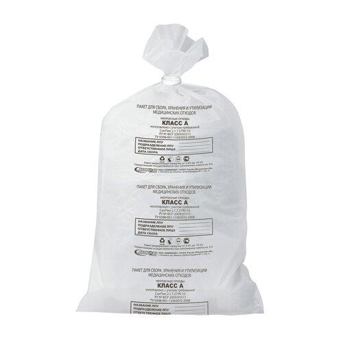Мешки для мусора Аквикомп Класс А 80 л (50 шт.) белый