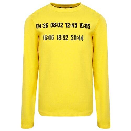 Лонгслив ATTIC21 размер 140, желтый матрас подушка на подоконник 2345 3456