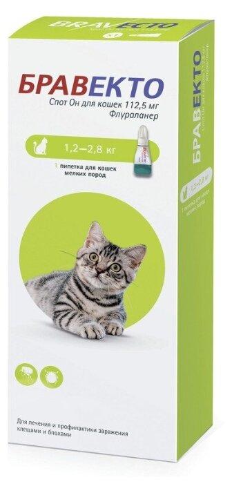 Бравекто (MSD Animal Health) капли от блох