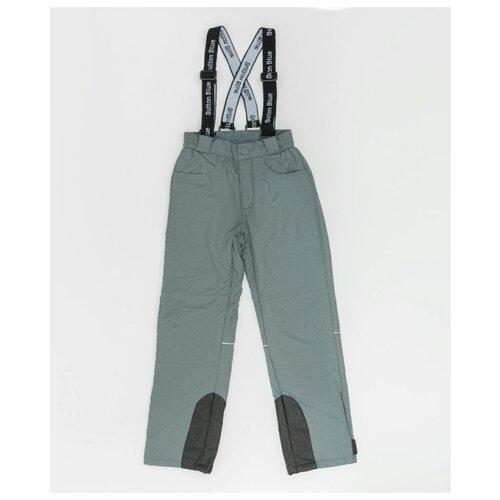 Купить Брюки Button Blue 220BBGA6401 размер 122, серый, Полукомбинезоны и брюки