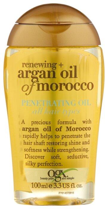 OGX Аргановое марокканское масло для восстановления волос