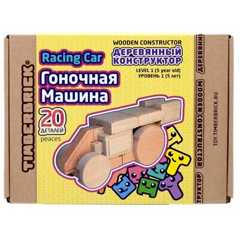 Конструктор TimberBrick Гоночная машина МК012