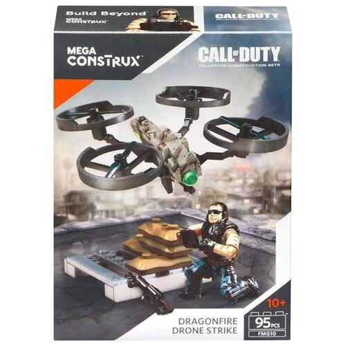 Конструктор Mega Construx Call of Duty FMG10 Dragonfire Drone Strike