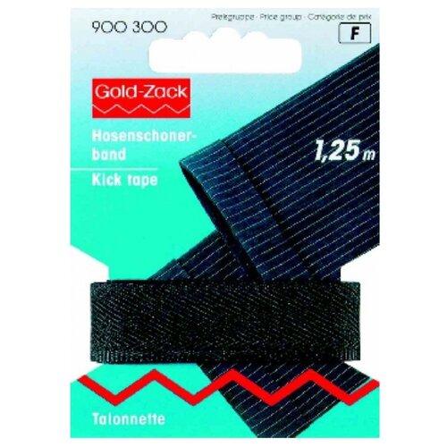 Купить Prym Тесьма для брюк Gold Zack (900300), черный 1.7 см х 1.25 м, Технические ленты и тесьма