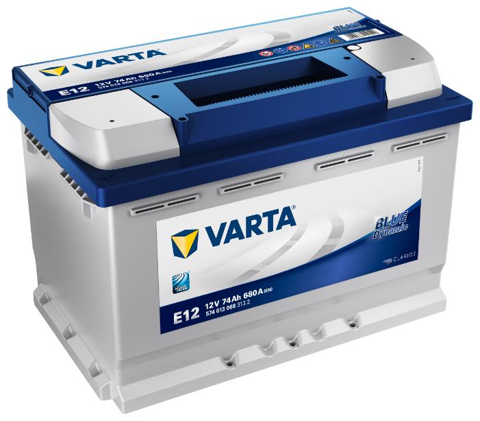 Автомобильный аккумулятор VARTA Blue Dynamic E12 (574 013 068)