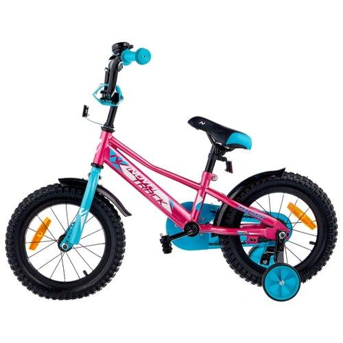 Детский велосипед Novatrack Valiant 14 (2019) красный (требует финальной сборки)