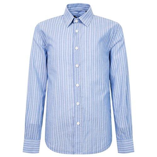 Рубашка Antony Morato размер 152, голубой рубашка antony morato mmsl00401 fa430296 7051