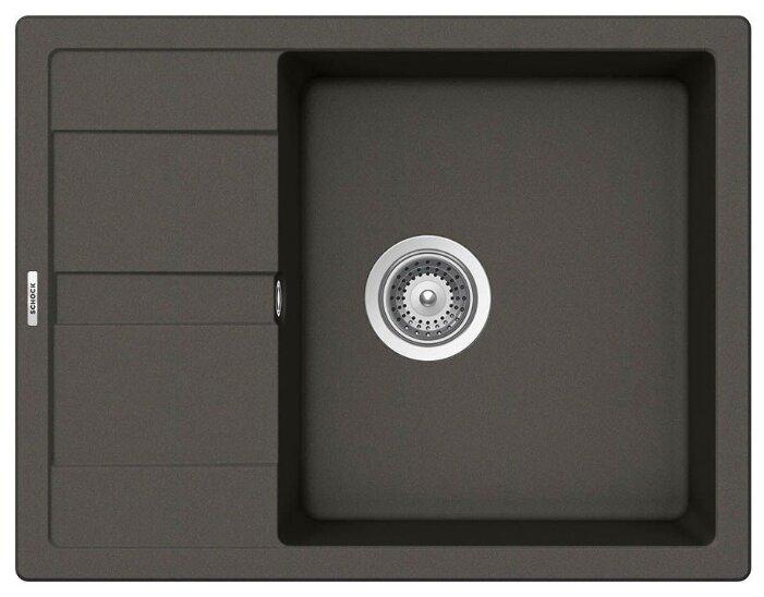 Врезная кухонная мойка Schock Optima 50D 65х50см искусственный гранит