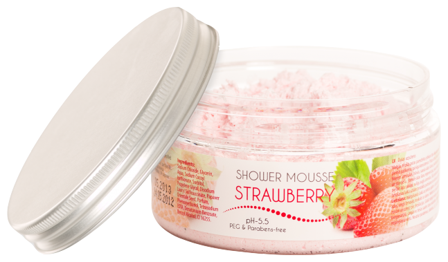 Мусс для душа Ceano Cosmetics Strawberry