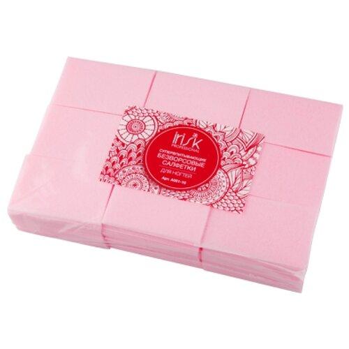 Купить Irisk Professional Салфетки Безворсовые Супервпитывающие, 600 шт розовый