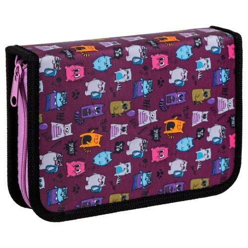 ArtSpace Пенал Funny (ПТ1_29078) фиолетовый, Пеналы  - купить со скидкой