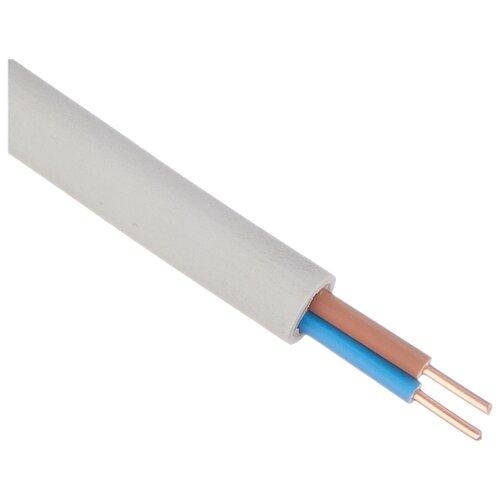 Кабель NYM 2х2.5 кв. мм (10 м) Пан Электрик ГОСТ белый