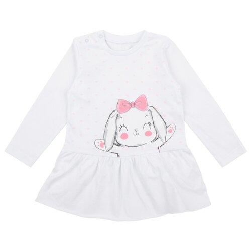 Купить Лонгслив Leader Kids, размер 80, белый, Футболки и рубашки