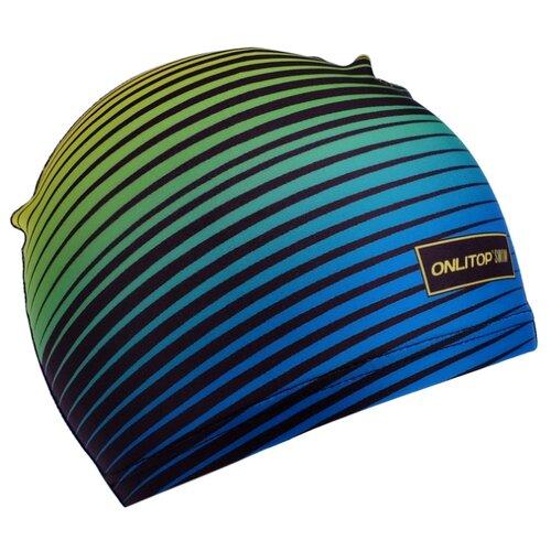 монтаж карповый onlitop готовый 2 40 г Шапочка для плавания Onlitop 4162739 синий/зеленый/черный