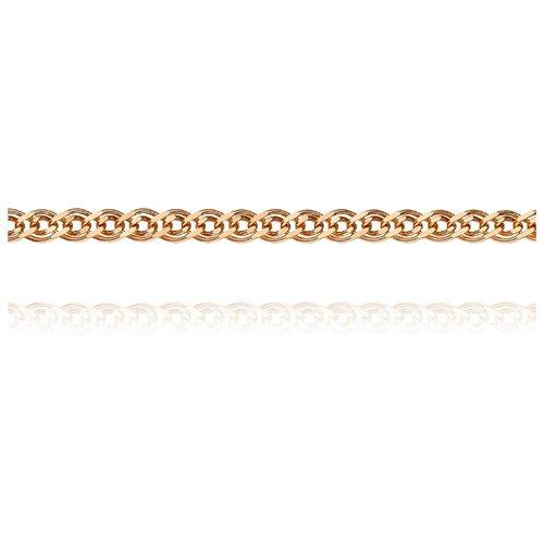 АДАМАС Цепь из золота плетения Нонна ЦН240А2-А51, 55 см, 4.91 г