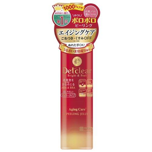 Meishoku пилинг-гель для лица Detclear Peeling Jelly Aging Care с AHA&BHA с эффектом сильного скатывания для зрелой кожи 180 мл