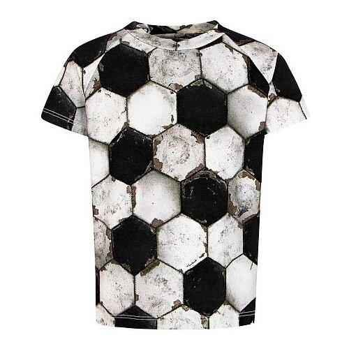 Фото - Футболка Molo размер 62, черный/серый костюм алтекс кд 055 мрамор 62 серый черный 62 размер