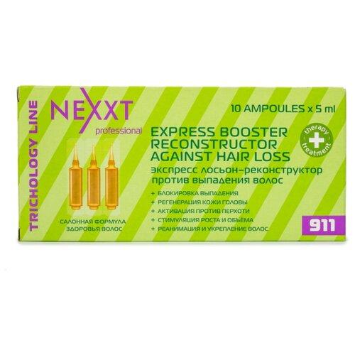 Nexprof Salon Treatment Care Экспресс лосьон-реконструктор против выпадения волос, 5 мл, 10 шт. ducray креастим лосьон против выпадения волос 30 мл 2 шт