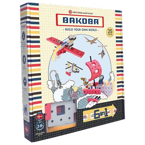 Купить Мягкий конструктор Bakoba Box set 1 Вертолет, Конструкторы