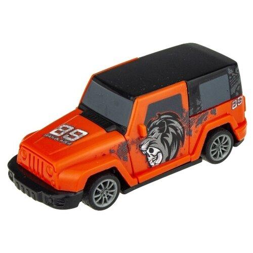Внедорожник 1 TOY CrashFest Trailblazer (Т17090-2), 10 см, оранжевый недорого