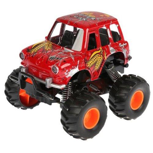 Купить Монстр-трак ТЕХНОПАРК W7733-144 11.5 см красный, Машинки и техника