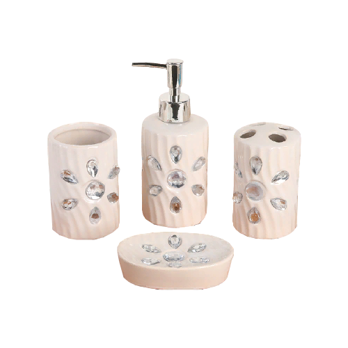 Фото - Набор для ванной Доляна Дерево 2469160, бежевый набор для ванной доляна грация 2698471 персиковый