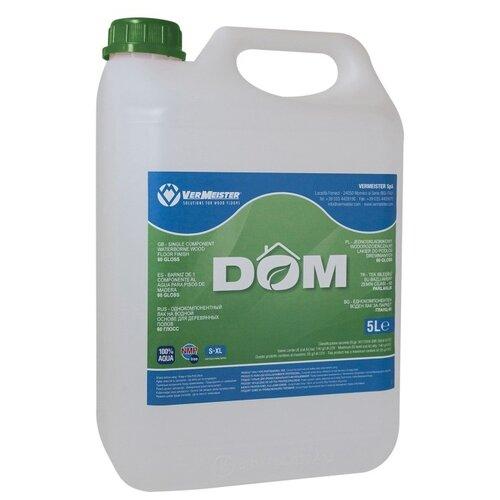 Лак Vermeister Dom 30 водорастворимый прозрачный 5 л