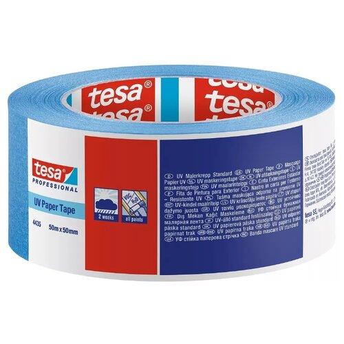 Фото - Клейкая лента малярная Tesa 4435, 50 мм x 50 м клейкая лента малярная tesa 55592 36 мм x 50 м