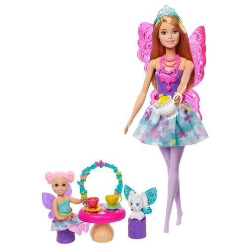 Фото - Кукла Barbie Dreamtopia Заботливая принцесса Чаепитие, GJK50 кукла barbie dreamtopia