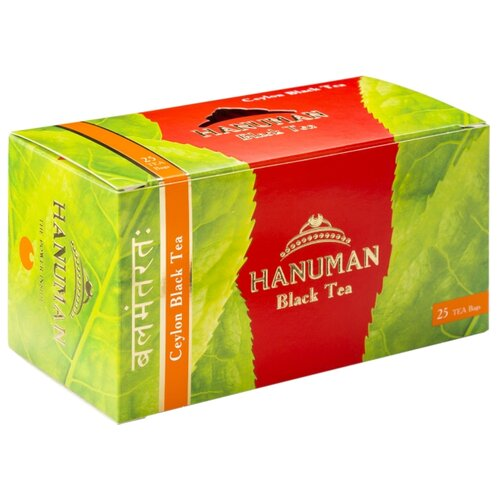 Чай черный Hanuman Ceylon в пакетиках, 25 шт. по цене 156