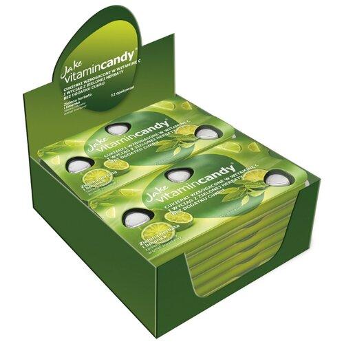 Леденцы Jake vitamincandy Зеленый чай и лайм 12 шт. jake dyer colemans diary