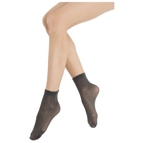 Капроновые носки Omsa Calzino Easy Day 40 den, 2 пары, размер 0 (one size), fumo