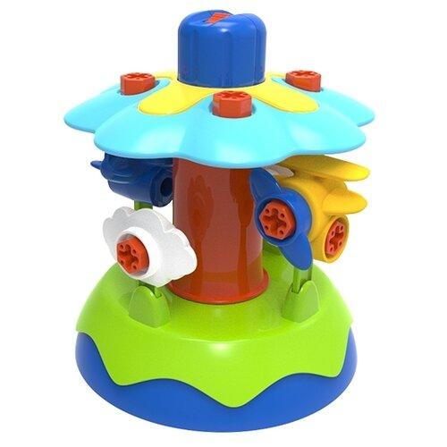 Купить Винтовой конструктор Edu Toys My First Engineering JS024 Карусель, Конструкторы