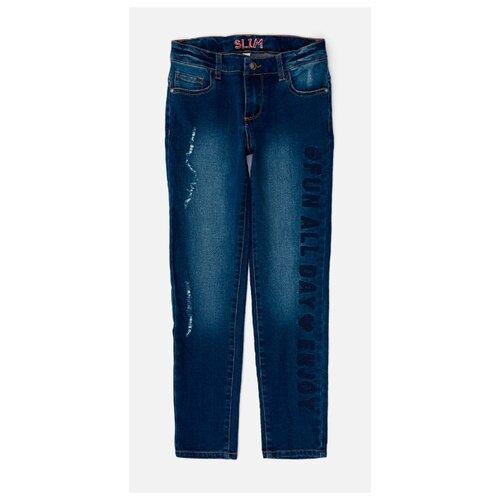 верхняя одежда acoola куртка детская для девочек цвет темно синий размер 98 20220130132 Джинсы Acoola размер 158, темно-синий