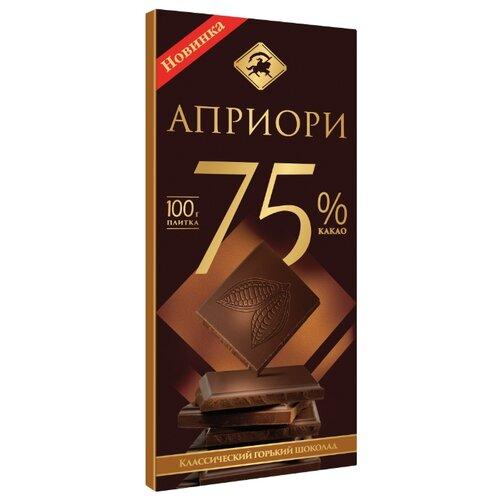 шоколад klaus горький 80% какао 100 г Шоколад Априори горький 75% какао, 100 г