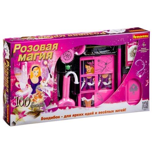 Купить Набор для фокусов BONDIBON Подарочный набор для девочек 100 фокусов ВВ2950, Настольные игры