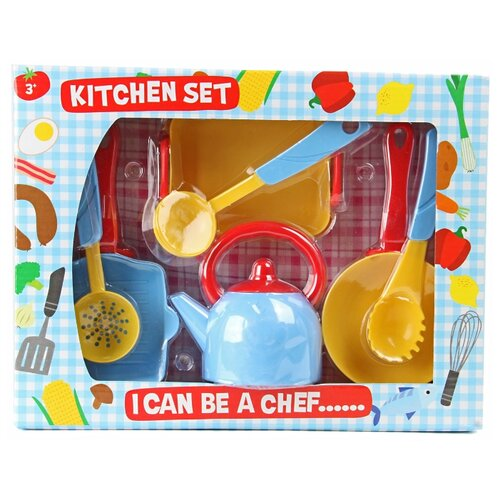 Набор посуды Veld Co 82171 разноцветный цена 2017